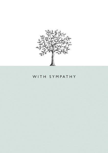 With Sympathy - Tree