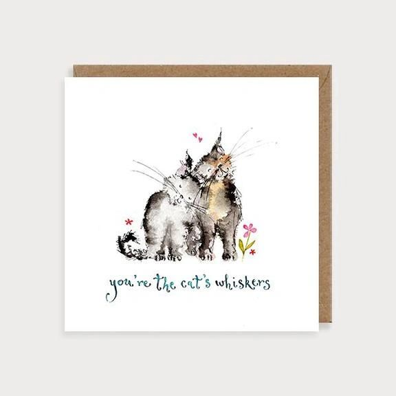 Cat's Whiskers Love & Friendship Card