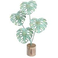 Metal Cheese Plant Ornament