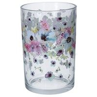 Confetti Flowers Glass T-Lite Holder
