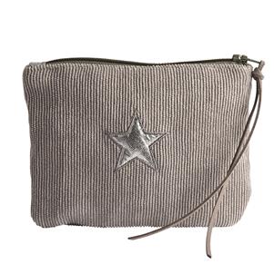 Corduroy star purse