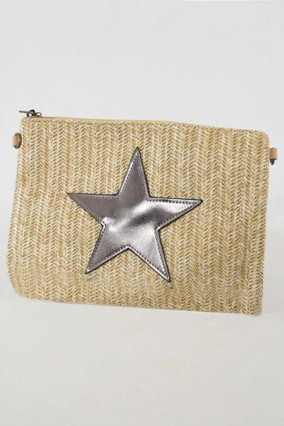 Copper Star Clutch Bag