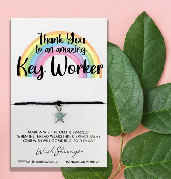 THANK YOU, KEY WORKER - WishStrings