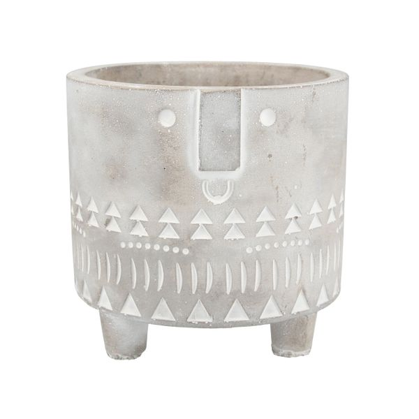 Concrete Face Pot Cover, Sml