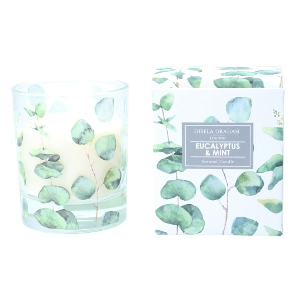 Boxed Scented Candle - Eucalyptus