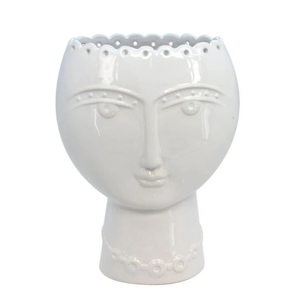 Gisela Graham Face Vase (Small)