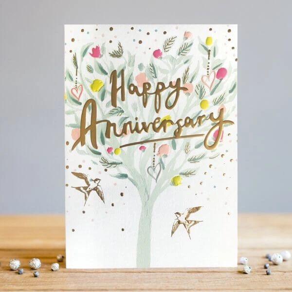 Happy Anniversary Tree Card