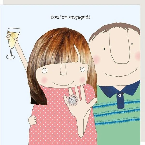 Rosie Engagement Card