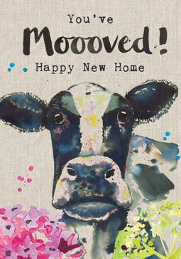 You've Mooved Card