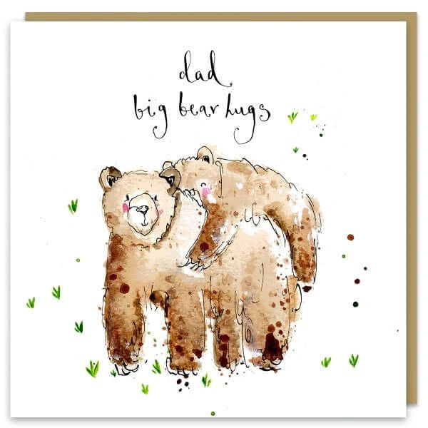 Dad Big Bear Hugs fa05
