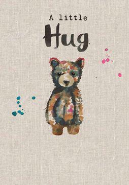 A Little Hug Card - SA26