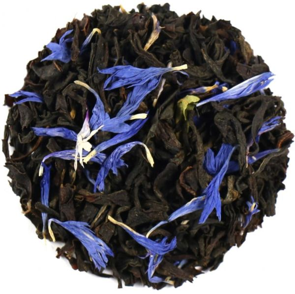 EARL GREY TEA FINEST WITH CORNFLOWERS 50g - Loose leaf or Tea-bags (15 bags) - please choose