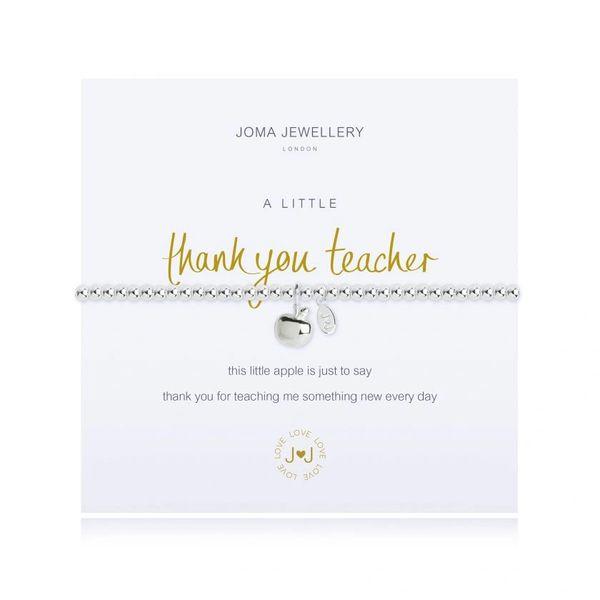 A LITTLE THANK YOU TEACHER BRACELET