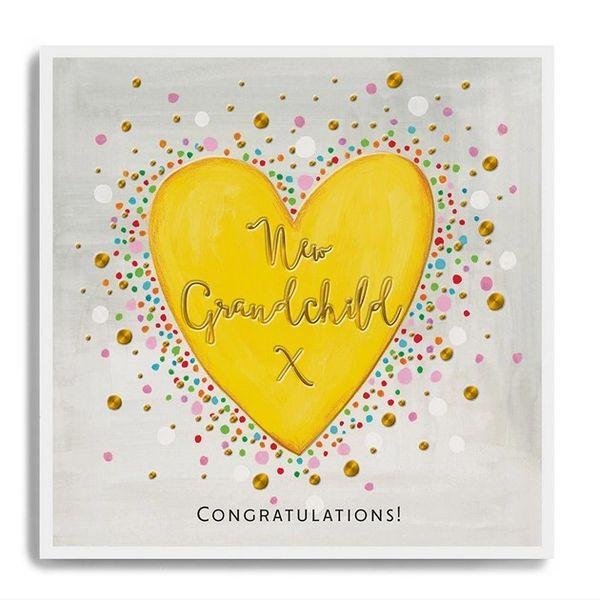 Congratulations New Grandchild - Heart