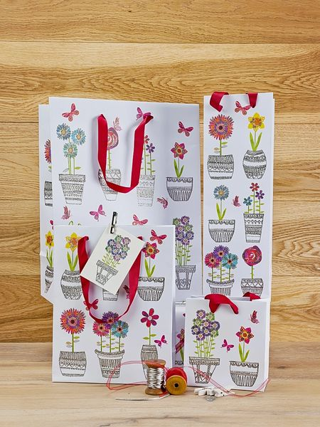 Wrought Vases Bottle Gift Bag