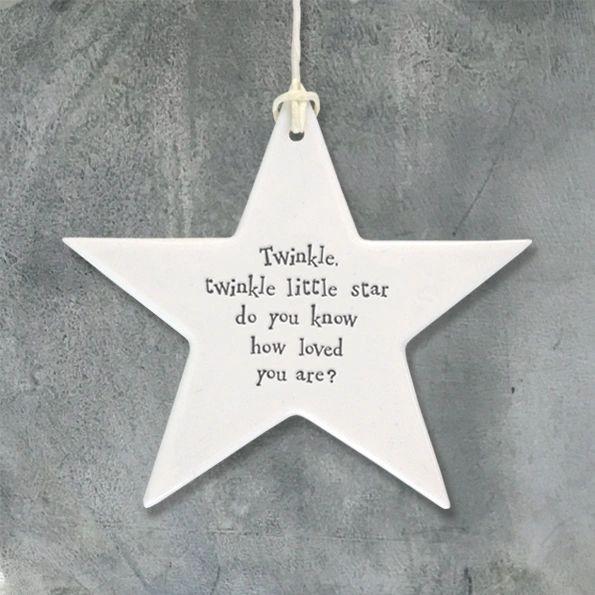 Porcelain star-Twinkle twinkle