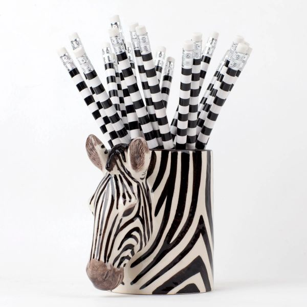 Zebra Pen Pot