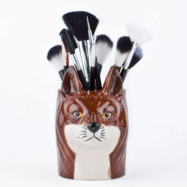 Fox Pen Pot