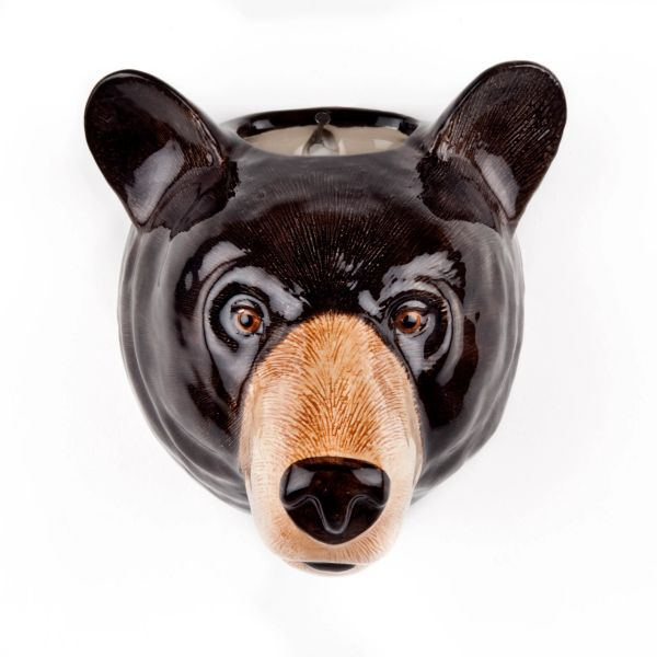 Brown Bear Wall Vase by Quail