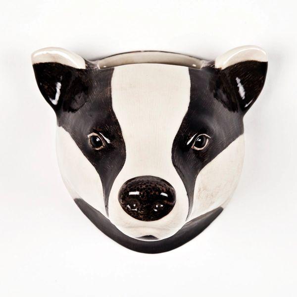 Badger Wall Vase by Quail