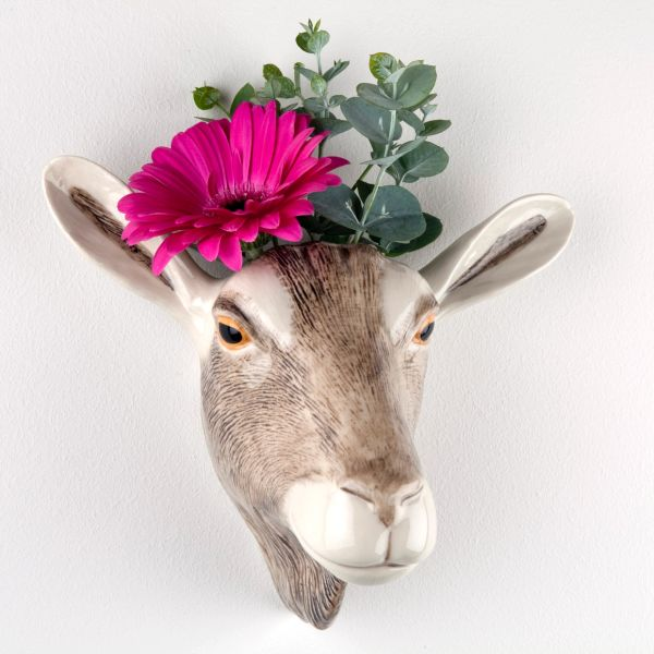 Goat Wall Vase by Quail