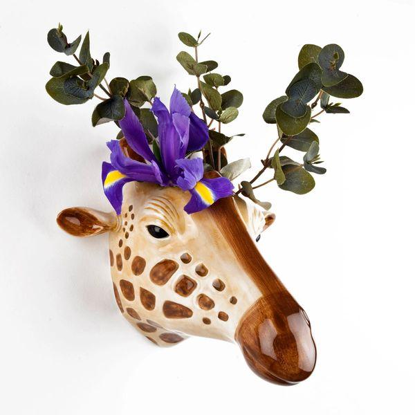 Giraffe Wall Vase by Quail