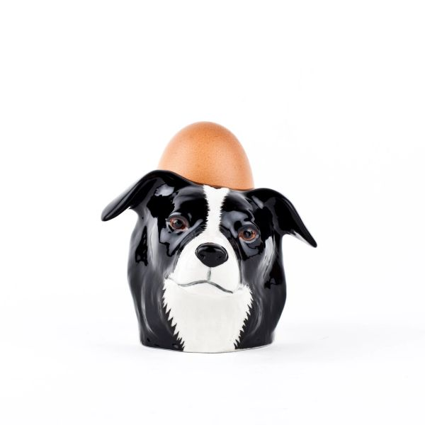 Collie Face Egg Cup by Quail