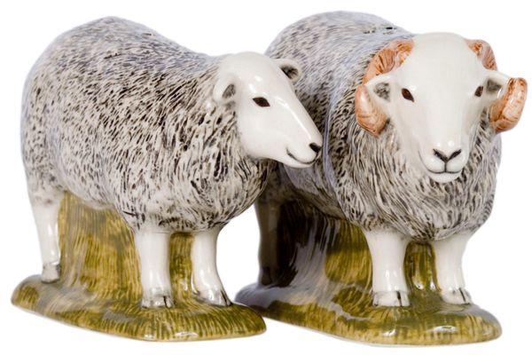 Herdwick Salt & Pepper Pots by Quail Ceramics