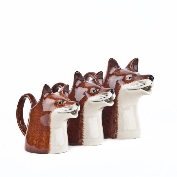 Fox Jug Medium by Quail Ceramics