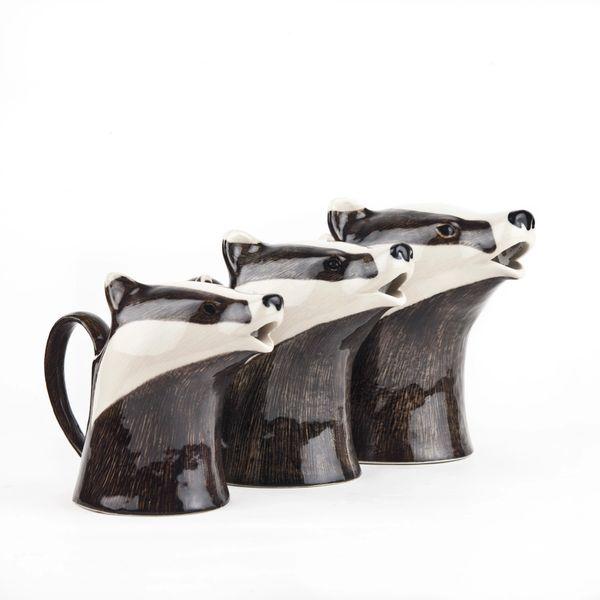 Badger Jug Small by Quail Ceramics
