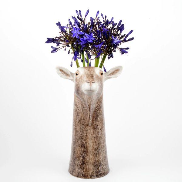 Goat Vase by Quail Ceramics