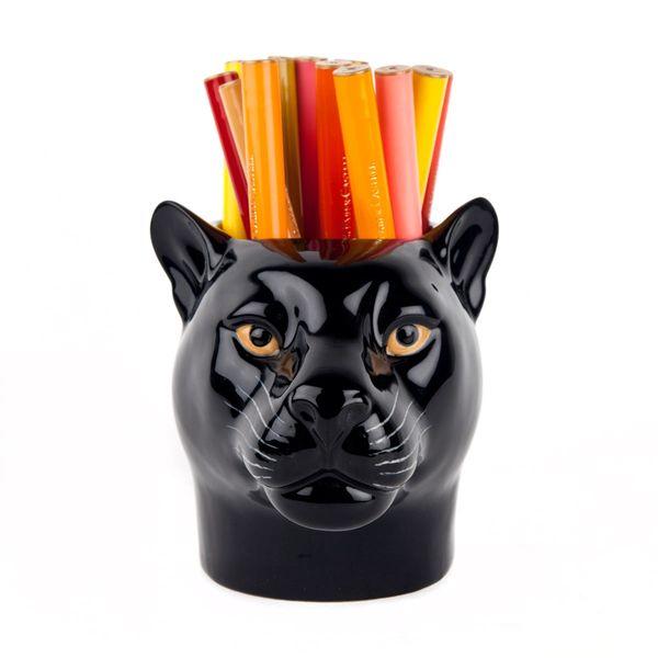Panther Pen Pot by Quail