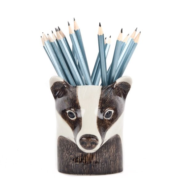 Badger Pen Pot by Quail