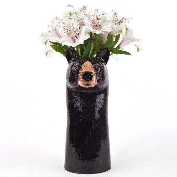 Brown Bear Large Vase by Quail