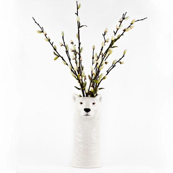 Polar Bear Large Vase by Quail