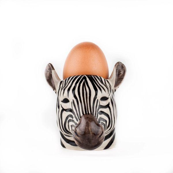 Zebra Egg Cup By Quail