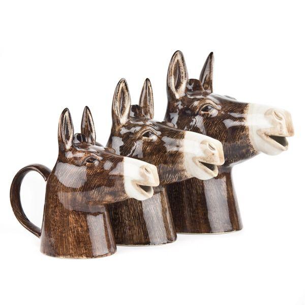 Large Donkey Jug by Quail Ceramics