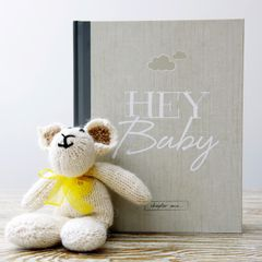 THE BABY BOOK - ALTERNATIVE BABY JOURNAL