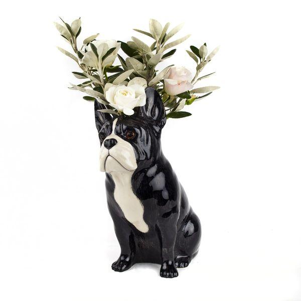 Frenchie Vase by Quail
