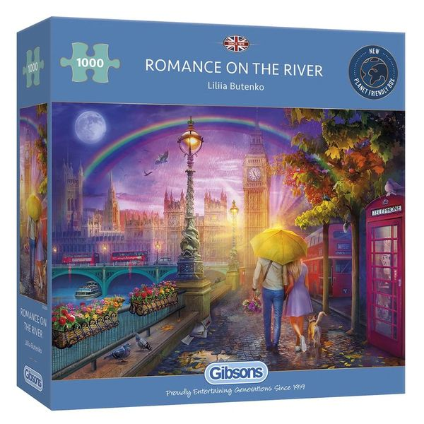 ROMANCE ON THE RIVER 1000 PIECE JIGSAW PUZZLE