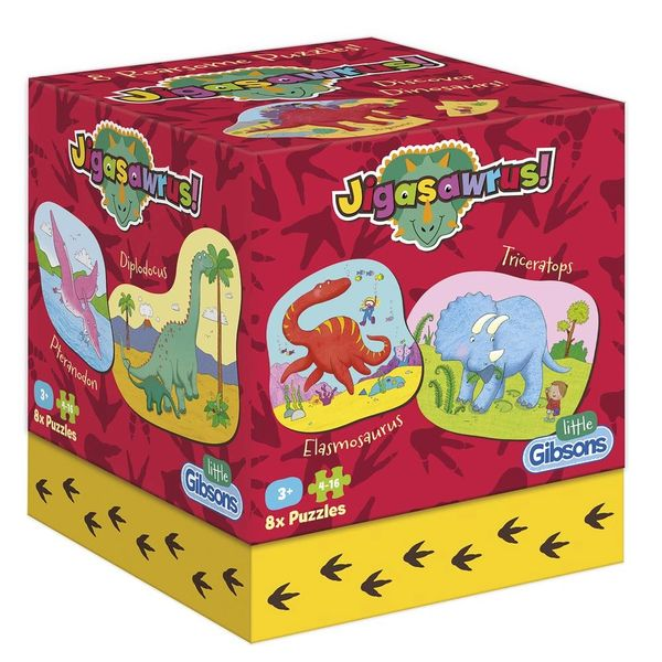 JIGASAWRUS CHILDREN'S PUZZLES