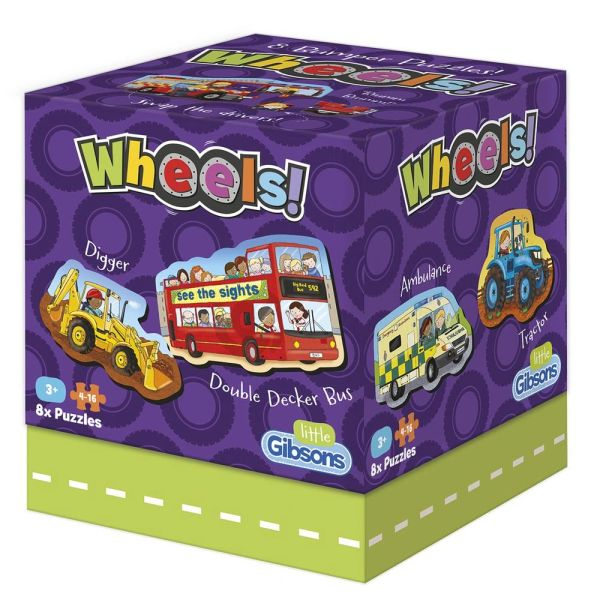 WHEELS CHILDREN'S PUZZLES