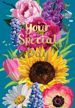 Your Special Day Foil Card