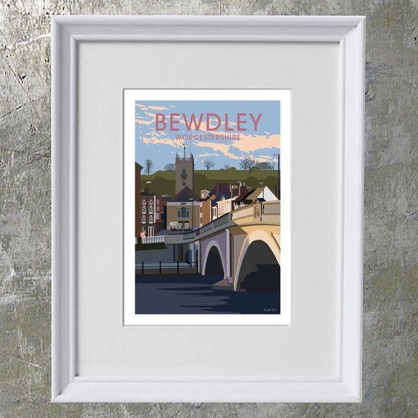 BEWDLEY framed art print