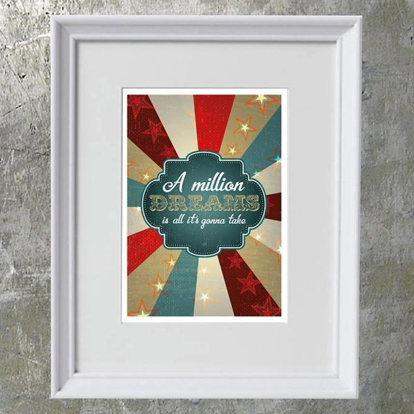 A Million Dreams... Art Print
