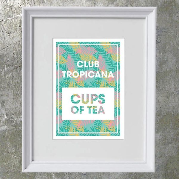 Club Tropicana Art Print