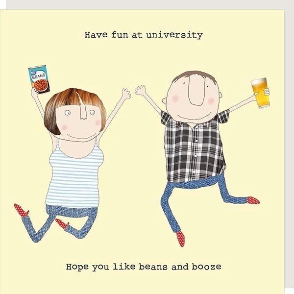 Off to University - Beans & Booze gf207
