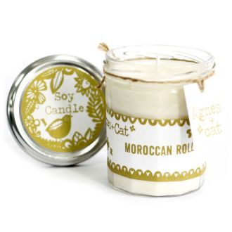 MOROCCAN ROLL Jam Jar Candle