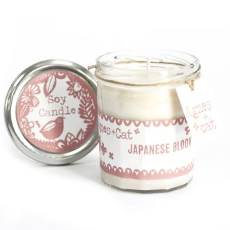 JAPANESE BLOOM Jam Jar Candle