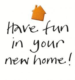 Have Fun in your new home IAA003